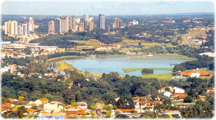 Lago do Barigui em Curitiba Paraná